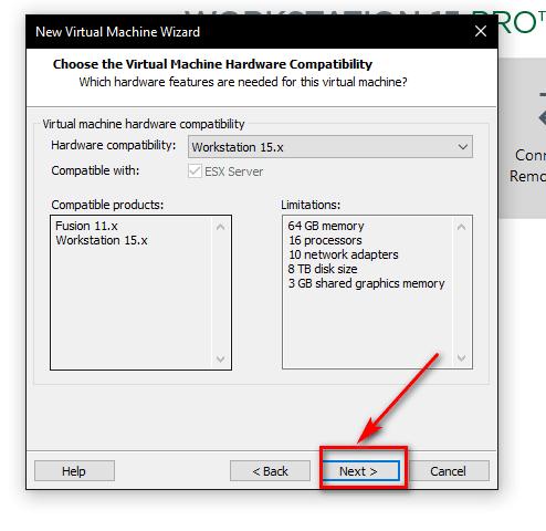 bước 3 cài đặt ubuntu trên vmware