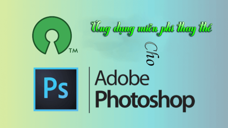 ung dung thay the cho photoshop tren linux